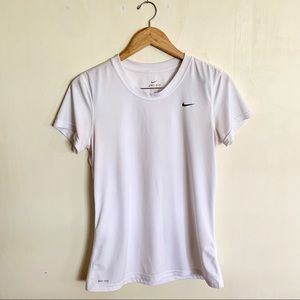 Nike Dri - Fit Short Sleeve workout Top